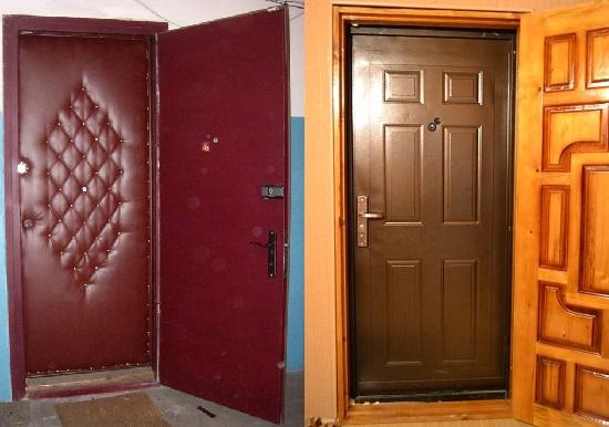 поставить вторые входные двери