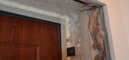 Проем под входную дверь