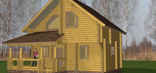 Какой дом строить - из профилированного бруса или оцилиндрованного бревна