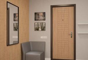 Вторая дверь позволит сохранить целостность интерьера