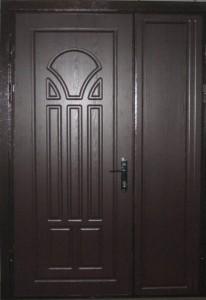 Металлические двери двойные