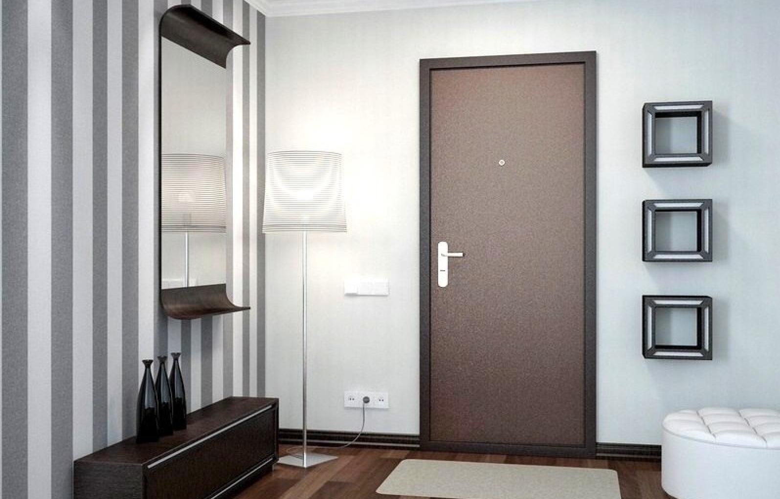 Входные двери в интерьере квартиры фото